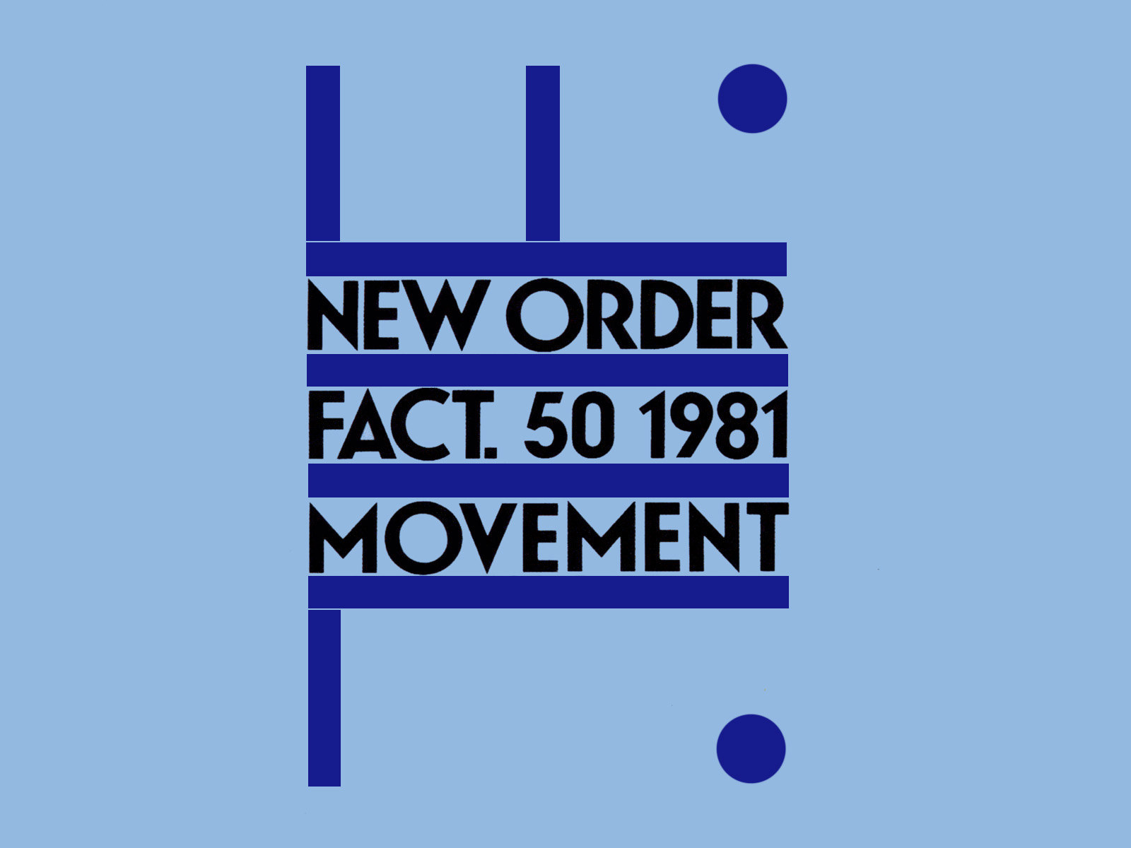 New Order Movement album wallpaper background