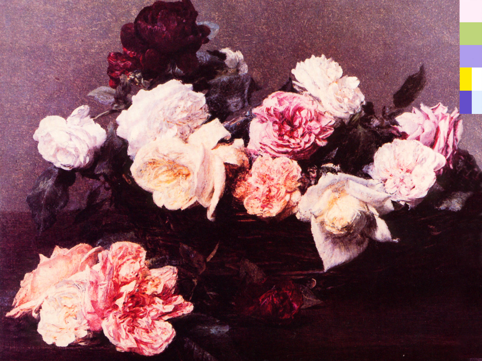 Power Corruption & Lies cover desktop wallpaper